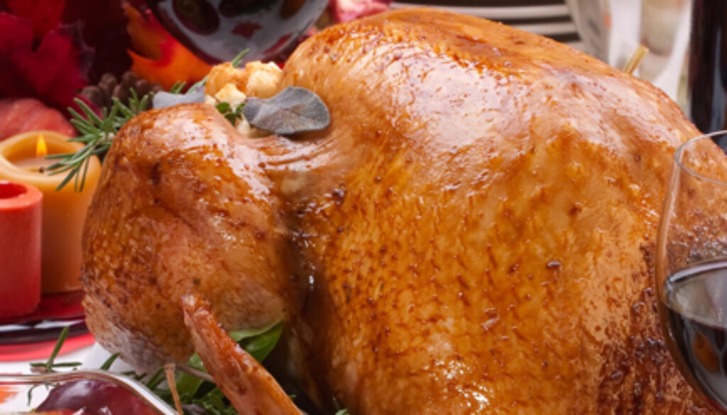 How to Not Stuff Yourself on the Holiday, Only the Turkey